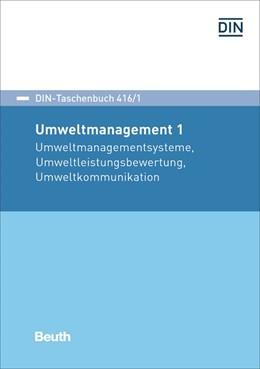 Abbildung von DIN e.V. | Umweltmanagement 1 | 1. Auflage | 2016 | 416/1 | beck-shop.de