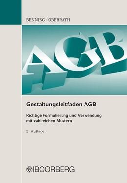 Abbildung von Gestaltungsleitfaden AGB | 3., vollständig überarbeitete Auflage 2015 | 2015 | Richtige Formulierung und Verw...