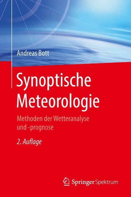 Synoptische Meteorologie | Bott | 2. Aufl. 2016, 2016 | Buch (Cover)