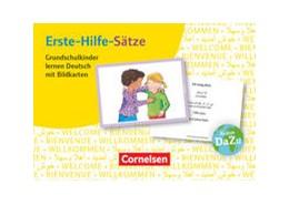 Abbildung von Erste-Hilfe-Sätze: Grundschulkinder lernen Deutsch mit Bildkarten   2016   100 Bildkarten. Deutsch lernen...