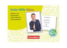 Abbildung von Erste-Hilfe-Sätze: Schüler und Erwachsene lernen Deutsch mit Fotokarten | 1. Auflage | 2016 | beck-shop.de