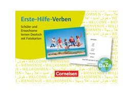 Abbildung von Erste-Hilfe-Verben: Schüler und Erwachsene lernen Deutsch mit Fotokarten | 1. Auflage | 2016 | beck-shop.de