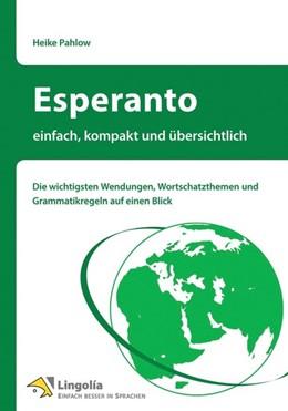 Abbildung von Pahlow   Esperanto - einfach, kompakt und übersichtlich   1. Auflage   2016   beck-shop.de