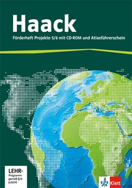 Abbildung von Der Haack Weltatlas für Sekundarstufe 1. 5/6.Schuljahr. Förderheft Projekte mit Atlasführerschein und Übungssoftware | 1. Auflage | 2016 | beck-shop.de