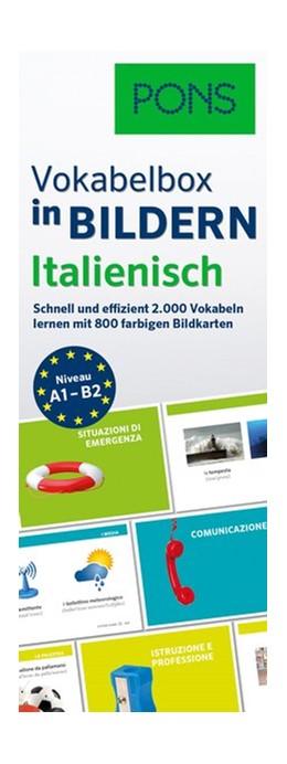 Abbildung von PONS Vokabelbox in Bildern Italienisch   2016   Schnell und effizient 2.000 Vo...