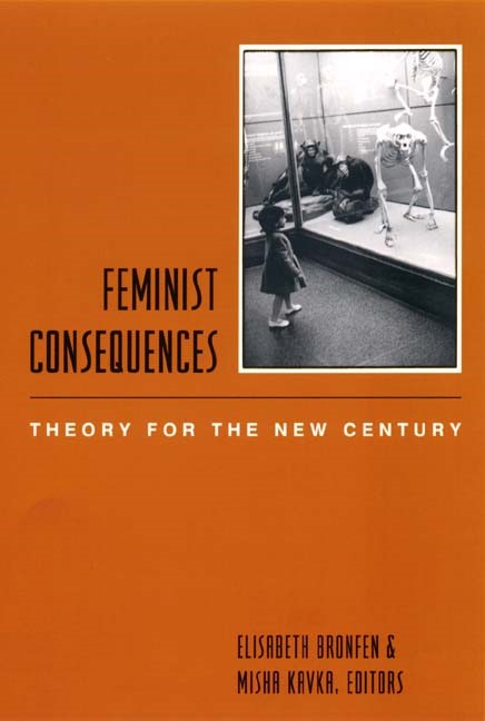 Abbildung von Bronfen / Kavka   Feminist Consequences   2001