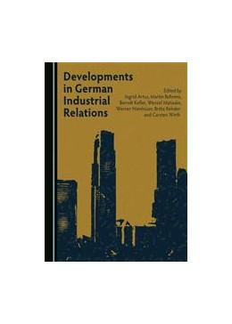 Abbildung von Matiaske   Developments in German Industrial Relations   2016
