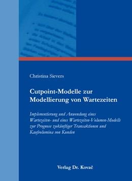 Abbildung von Sievers | Cutpoint-Modelle zur Modellierung von Wartezeiten | 2016 | Implementierung und Anwendung ... | 42