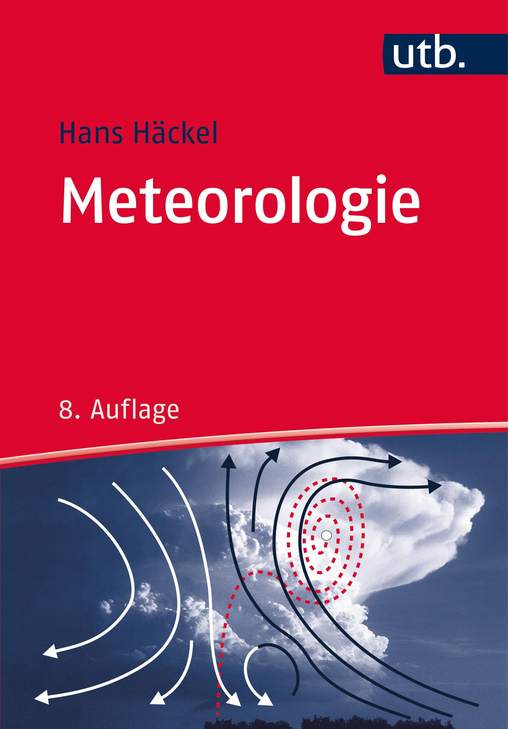 Meteorologie | Häckel | 8. überarbeitete Auflage, 2016 | Buch (Cover)