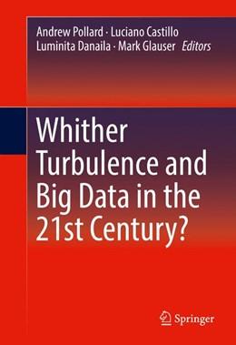 Abbildung von Pollard / Castillo / Danaila / Glauser | Whither Turbulence and Big Data in the 21st Century | 2016