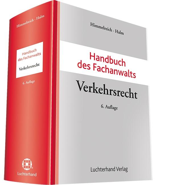 Handbuch des Fachanwalts Verkehrsrecht | Himmelreich / Halm | Buch (Cover)