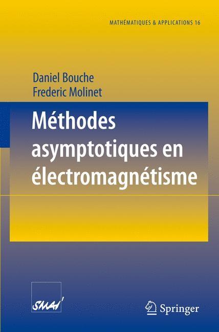 Méthodes asymptotiques en électromagnétisme | Bouche / Molinet | 1. Auflage, 1994 | Buch (Cover)