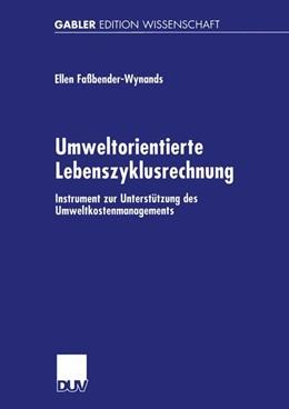 Abbildung von Faßbender-Wynands | Umweltorientierte Lebenszyklusrechnung | 2001 | Instrument zur Unterstützung d...