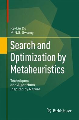 Abbildung von Du / Swamy | Search and Optimization by Metaheuristics | 1. Auflage | 2016 | beck-shop.de