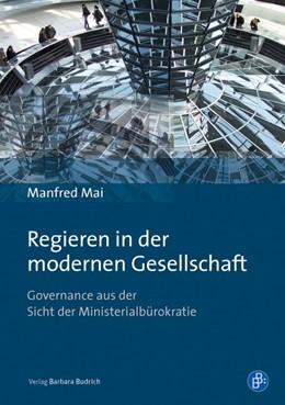 Abbildung von Mai   Regieren in der modernen Gesellschaft   1. Auflage   2016   beck-shop.de