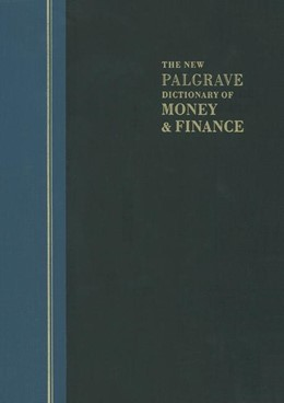 Abbildung von Eatwell / Milgate / Newman | The New Palgrave Dictionary of Money and Finance | Softcover reprint of the original 1st ed. 1992 | 1992 | 3 Volume Set