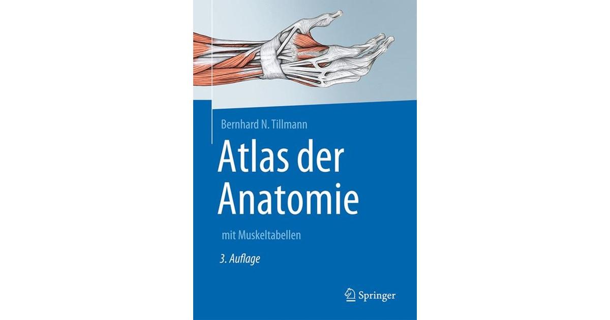Atlas der Anatomie des Menschen | Tillmann | 3., überarbeitete und ...
