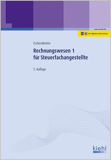 Rechnungswesen 1 für Steuerfachangestellte | Zschenderlein | 5., aktualisierte Auflage, 2016 | Buch (Cover)