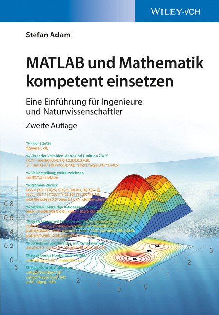MATLAB und Mathematik kompetent einsetzen | Adam | 2. überarbeitete und ergänzte Auflage, 2016 | Buch (Cover)