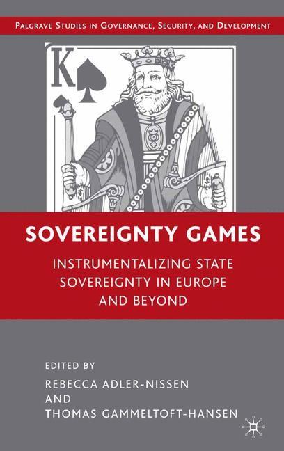 Abbildung von Adler-Nissen / Gammeltoft-Hansen | Sovereignty Games | 1st ed. 2008 | 2008