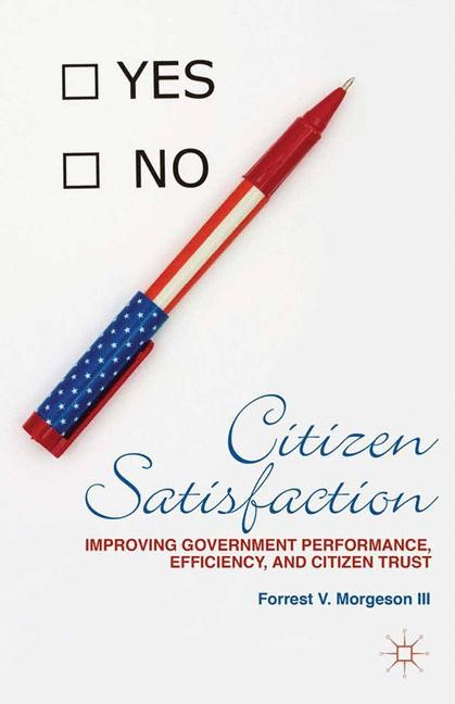 Citizen Satisfaction | Morgeson | 1st ed. 2014, 2015 | Buch (Cover)