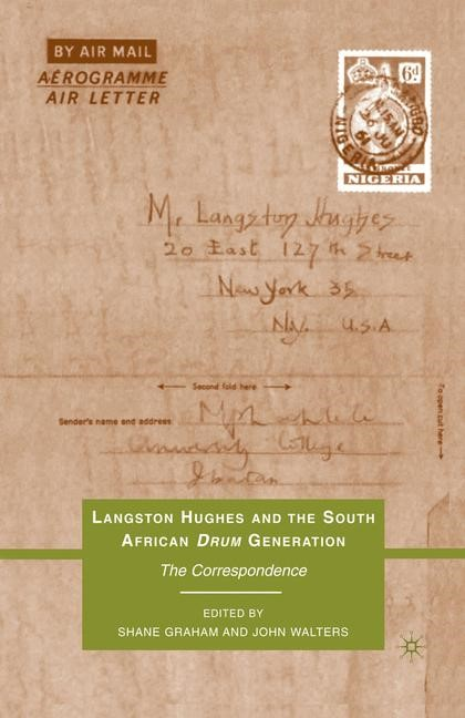Abbildung von Graham / Walters | Langston Hughes and the South African Drum Generation | 1st ed. 2010 | 2010
