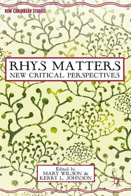 Abbildung von Wilson / Johnson | Rhys Matters | 1st ed. 2013 | 2013