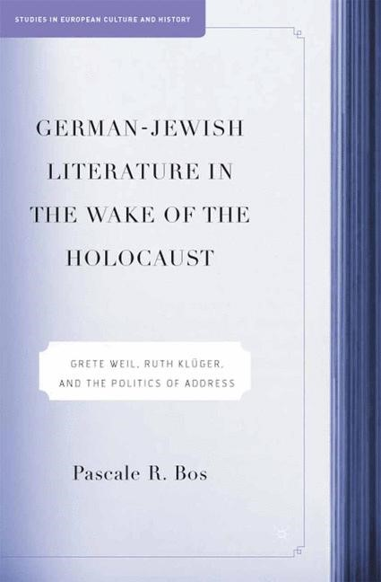 German-Jewish Literature in the Wake of the Holocaust | Bos | 1st ed. 2005, 2015 | Buch (Cover)