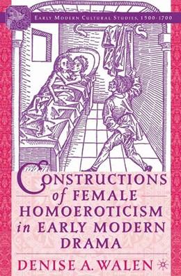 Abbildung von Walen | Constructions of Female Homoeroticism in Early Modern Drama | 1st ed. 2005 | 2005