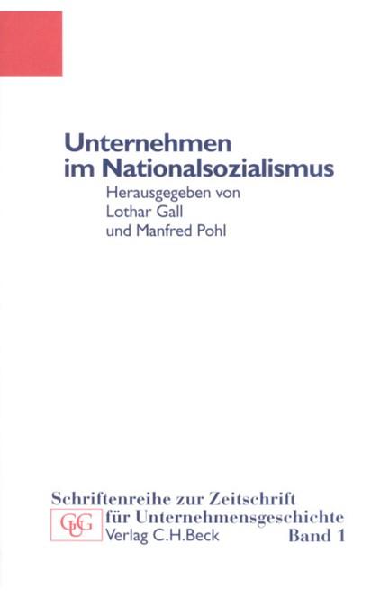 Cover: , Unternehmen im Nationalsozialismus