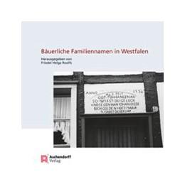 Abbildung von Roolfs   Bäuerliche Familiennamen in Westfalen   1. Auflage   2016   beck-shop.de
