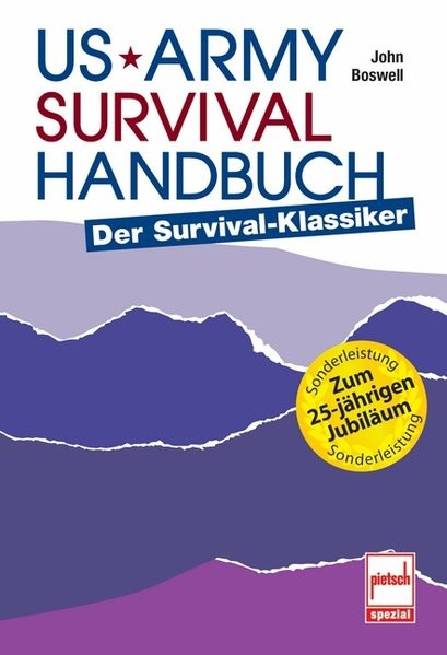 US Army Survival Handbuch | Boswell, 2006 | Buch (Cover)