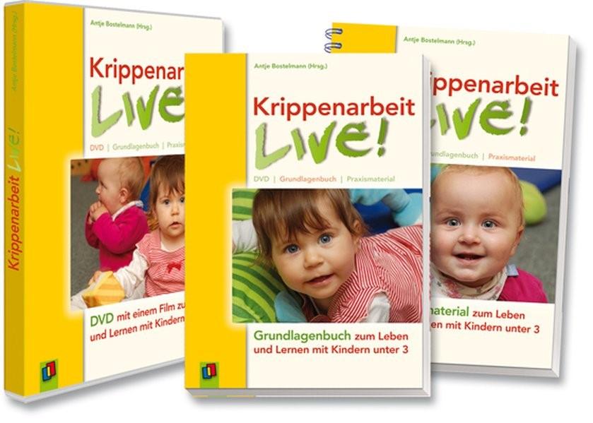 Krippenarbeit live! | Bostelmann, 2010 | Buch (Cover)