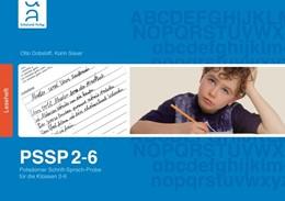 Abbildung von Dobslaff | PSSP 2-6 | 2016 | Potsdamer Schrift-Sprach-Probe...