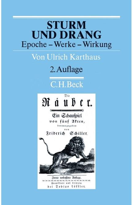 Cover: Ulrich Karthaus, Sturm und Drang
