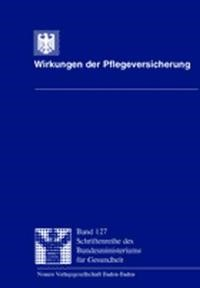 Wirkungen der Pflegeversicherung | / Schneekloth / Müller, 2000 | Buch (Cover)