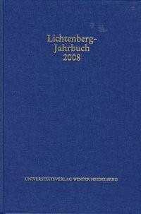 Lichtenberg-Jahrbuch 2008 | Achenbach / Tuitje, 2008 | Buch (Cover)