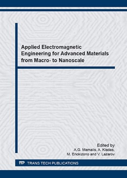 Abbildung von Mamalis / Kladas | Applied Electromagnetic Engineering for Advanced Materials from Macro- to Nanoscale | 1. Auflage | 2016 | Volume 856 | beck-shop.de