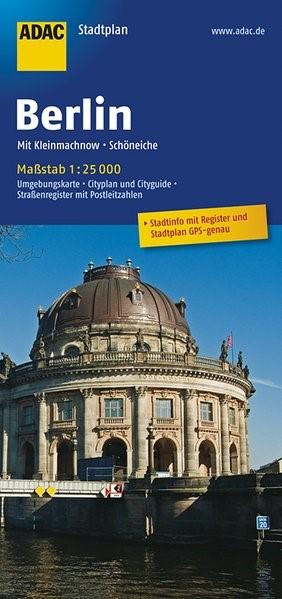 ADAC Stadtplan Berlin 1 : 25 000 | 14. Auflage, Laufzeit bis 2020, 2016 (Cover)