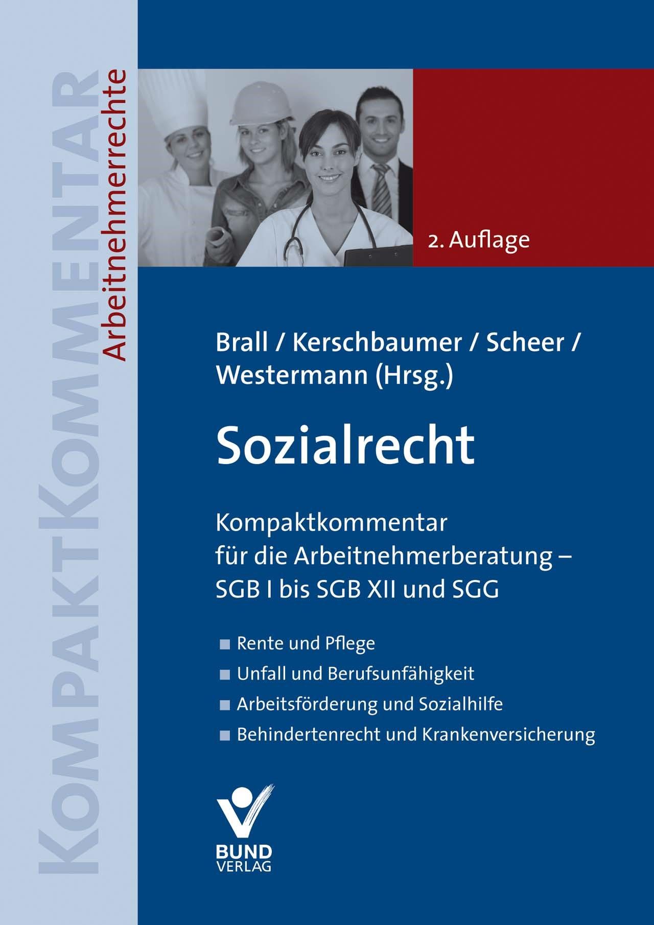 Sozialrecht | Brall / Kerschbaumer / Scheer / Westermann (Hrsg.) | 2., überarbeitete Auflage, 2017 | Buch (Cover)