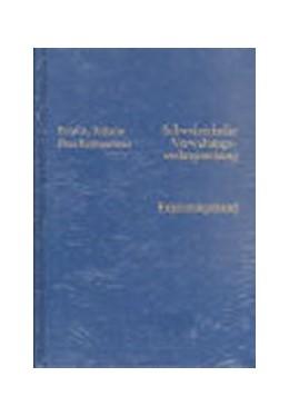 Abbildung von Krähenmann / Rhinow | Schweizerische Verwaltungsrechtsprechung: Ergänzungsband | 1990