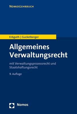 Allgemeines Verwaltungsrecht | Erbguth / Guckelberger, 2017 | Buch (Cover)