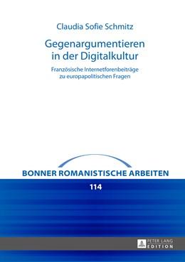 Abbildung von Schmitz | Gegenargumentieren in der Digitalkultur | 2016 | Französische Internetforenbeit... | 114