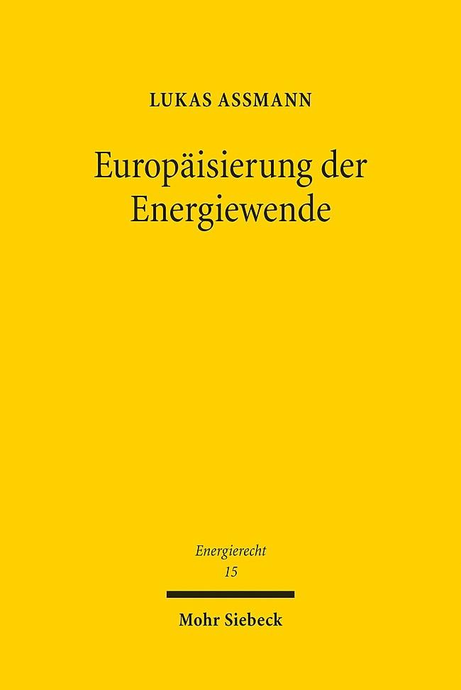 Abbildung von Assmann   Europäisierung der Energiewende   2016