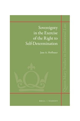Abbildung von Hofbauer | Sovereignty in the Exercise of the Right to Self-Determination | 2016 | 27