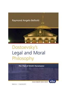 Abbildung von Belliotti | Dostoevsky's Legal and Moral Philosophy | 2016 | The Trial of Dmitri Karamazov | 293