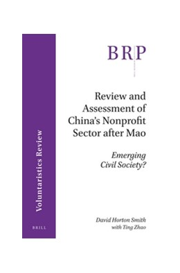Abbildung von Smith | Review and Assessment of China's Nonprofit Sector after Mao | 2016