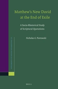 Abbildung von Piotrowski | Matthew's New David at the End of Exile | 2016