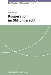Abbildung von Uhl   Kooperation im Stiftungsrecht   2016