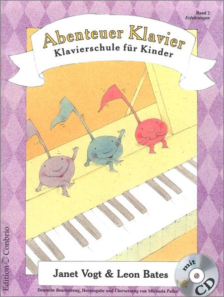 Abenteuer Klavier, Erfahrungen (2. Hauptband), 2004 (Cover)